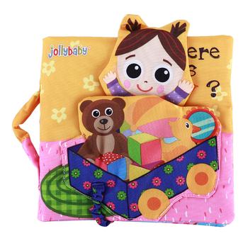 Miękka zabawka rozwojowa cicha książka dziecko wczesna nauka edukacja tkanina książka dla dzieci z pierścieniem papierowa książka dla dzieci książka przygodowa zabawka tanie i dobre opinie Toporchid 13-24m 25-36m 4-6y CN (pochodzenie) Baby Cloth Books