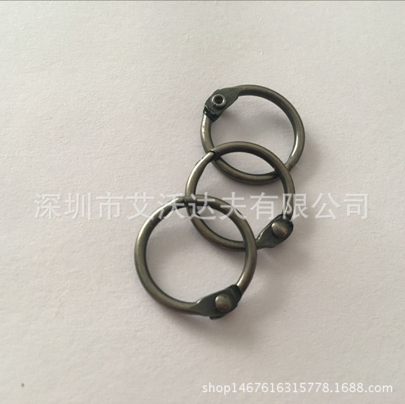 Wholesale 15 Size Book Circle Activity Broken Ring Manufacturers Direct Selling