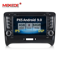 PX5 4GB+64GB Android 9.0 Car stereo head unit navigation GPS NAVI multimedia player for Audi TT MK2 8J 2006 2012 with DSP IPS