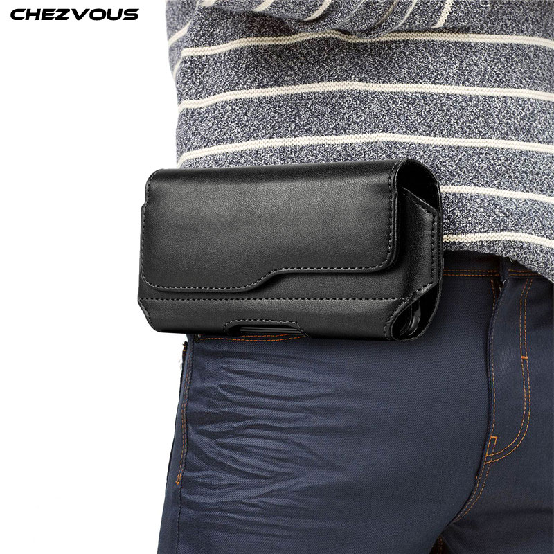 Mobile Phone Pouch Universal for <font><b>iPhone</b></font> 11pro Max <font><b>X</b></font> 8 7 6 Plus 5 5S SE 4 XR <font><b>XS</b></font> Max <font><b>Belt</b></font> Waist Bag Case for Xiaomi Huawei Samsung image