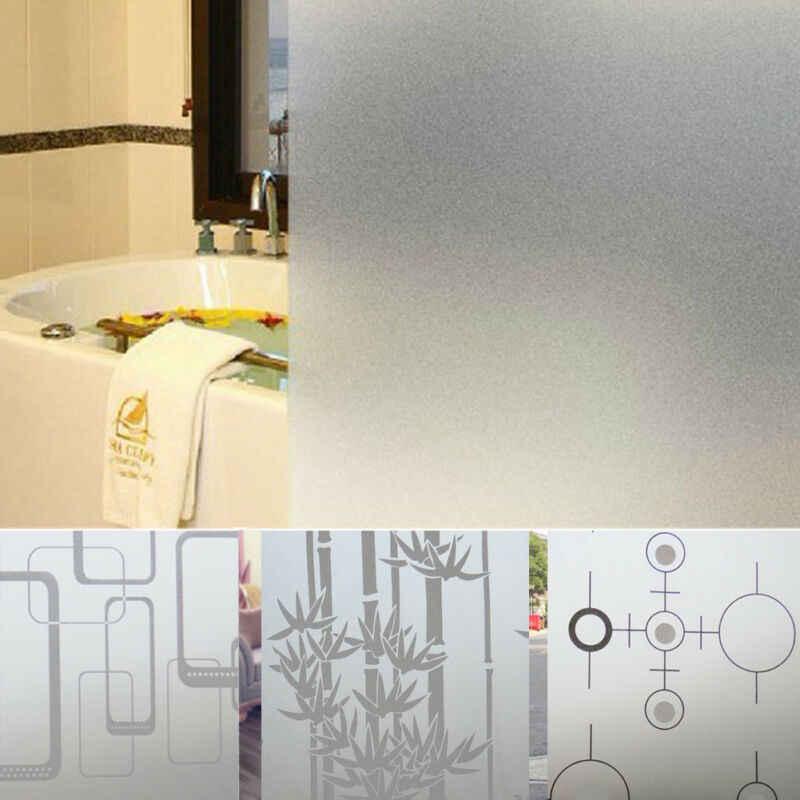 Più Nuovo 2M * 45 Cm Frosted Opaco Pellicola Della Finestra di Vetro per La Finestra Privacy Adesivo Autoadesivi di Vetro Complementi Arredo Casa Colore Misto camera da Letto