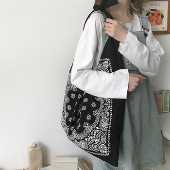 Moda damska w stylu etnicznym płótno o dużej pojemności torba na ramię torba Retro rozrywka torba podróżna tanie i dobre opinie Torebka na co dzień NONE Brak CN (pochodzenie) PŁÓTNO