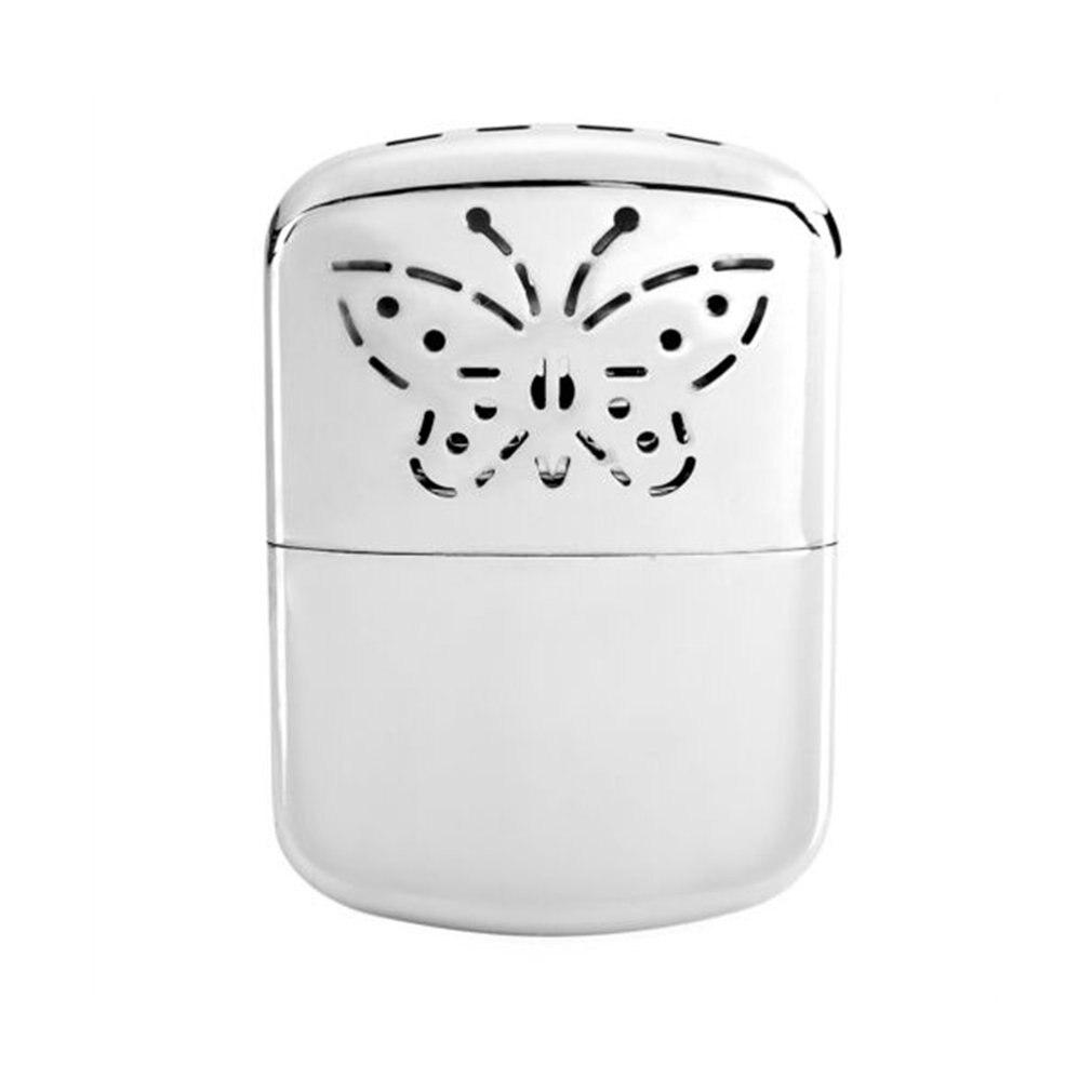 Portable taille voyage pratique chauffe-eau beau motif papillon en plein air hiver garder au chaud électrique chauffe-main