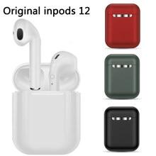 Inpods fone de ouvido sem fio 12 tws toque chave bluetooth 5.0 esporte fone estéreo para iphone xiaomi huawei samsung telefone inteligente