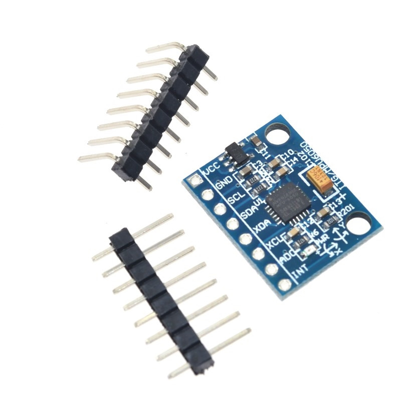 MPU-6050 Module Three-Axis Acceleration Gyro 6dof Module Gy-521 With Code Schematic MPU6050+ 3 Axis Accelerometer Module