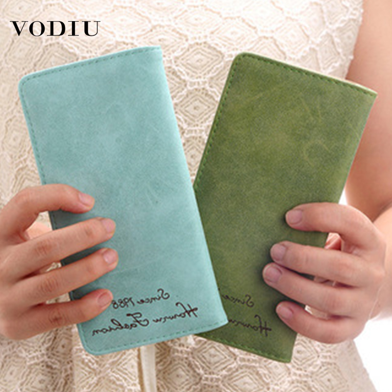 Women's Wallet Leather Purses Fashion Brand Luxury Slim Long Bifold Multifunctional Card Holder Female Clutch Wallet Women Purse