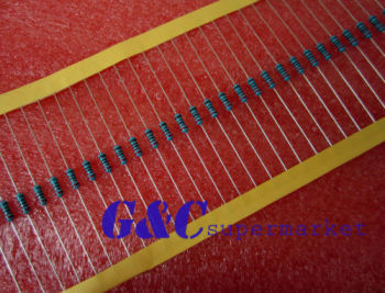 500PCS 10K Ohm 1/4W 0.25W 1% accuracy Metal Film Resistors RoHS R-MF diy electronics цена 2017