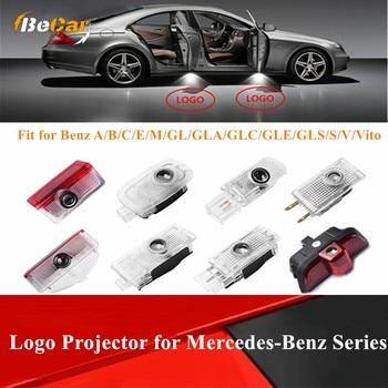 2 Pcs Welcome Laser Light Door Logo Light Projector Light for Mercedes Benz For Benz A/B/C/E/M/GL/GLA/GLC/GLE/GLS/S/V/Vito evans v gray e welcome set a flashcards