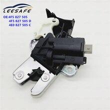 LEESAFE Car Truck Parts A6L Rear Trunk Lid Lock Latch 4F5827505D for Eos Passat B6 B7 CC Brand new