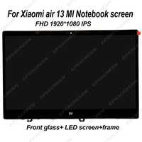 """13.3 """"dla XIAOMI mi notebook air 13 LQ133M1JW15 ekran laptopa IPS LED wyświetlacz lcd MONITOR matrycowy FHD IPS EDP 30 szklana szpilka"""