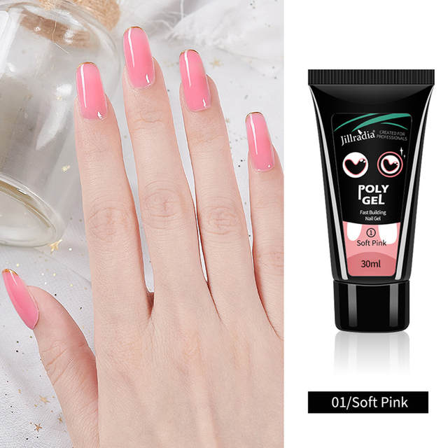 ROHWXY поли УФ гель для маникюра 30/15 мл гель для наращивания Цветной Гель-лак для ногтей художественная живопись гель для ногтей эмаль