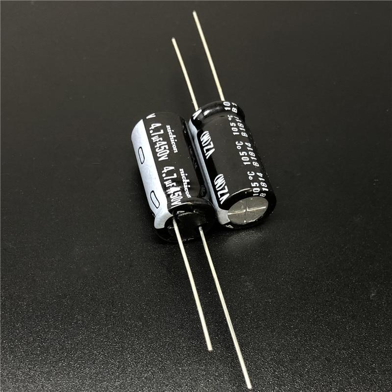 10pcs 100uf 10v Axial Electrolytic Capacitors 10v100uf for Audio panasonic JAPAN