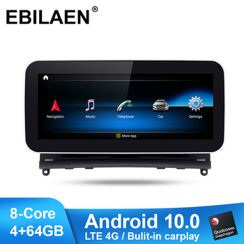 EBILAEN Car Multimedia Player for Mercedes Benz C Class W204 S204 2008-2010 Android 10.0 Autoradio Stereo Navi GPS Headunit image