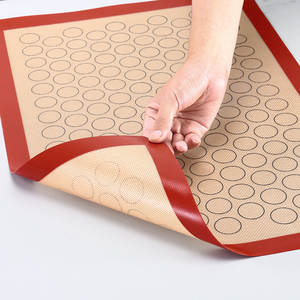 Macaron-Baking Nonstick Pastry/cookie Making-Professional-Grade Silicone Mat-For