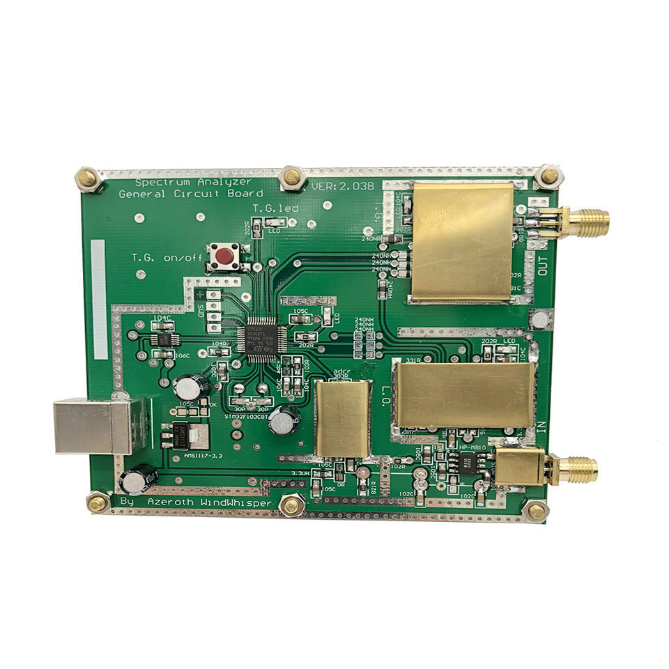 Simple Spectrum Analyser D6 with Tracking Source T.G. V2.02 Simple Signal Source RF Frequency Domain Analysis Tool(China)