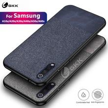 GKK Original Case for Samsung A10s A20s A30s A40s A50s A60s Business Soft TPU Edge Hard PC Reinforce Coque