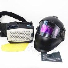 Hava temizleme respiratör kaynak maskesi kişisel koruyucu ekipman sanayi kağıt kiti otomatik kararan kaynak kask