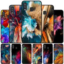 Deslumbrar preto lindo Caso de telefone macio Para Samsung A10 20 30 40 50 50 30S S 60 70 M10 M30S M40 A31 51 71 A20E A10E A21S shell