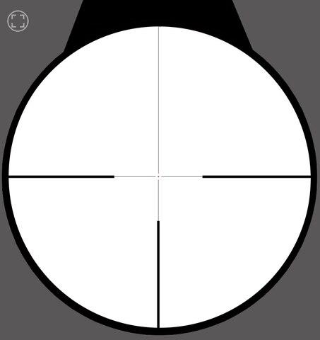 vidro gravado reticulo tatico mira optica escopo ponto vermelho iluminado