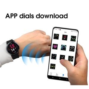 Image 5 - Smartwatch IP68 impermeabile + cinturino/Set Smart Watch ECG pressione sanguigna ossigeno ricarica Wireless per iPhone Samsung Huawei Watch