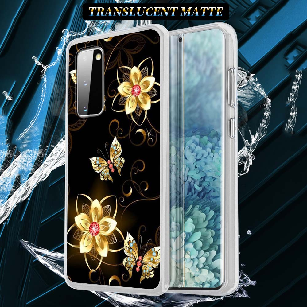 Cute Butterfly Silicone Case For Samsung Galaxy S21 S20 FE S10 S8 S9 Plus Note 20 9 8 10 Lite Soft Cover Shell Capas