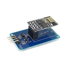 Esp8266 ESP-01 serial wifi adaptador sem fio módulo 3.3 v 5 v esp01 breakout pcb adaptadores compatíveis para arduino