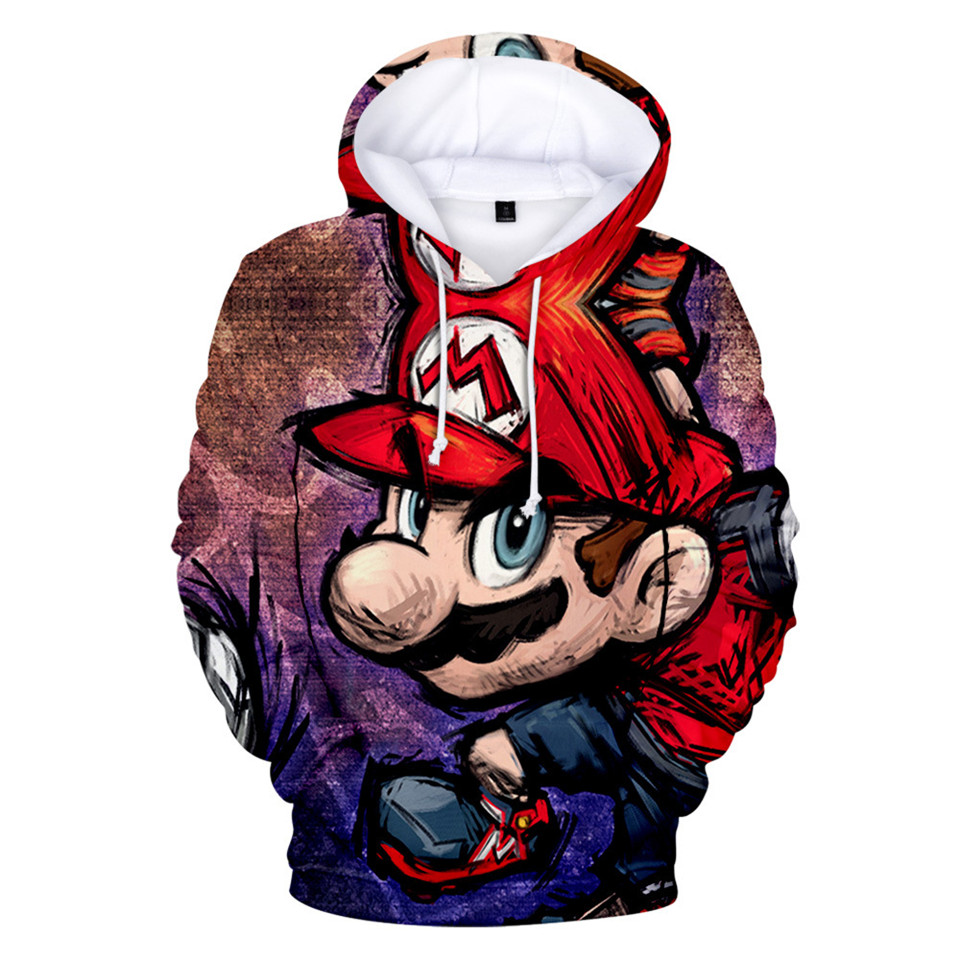 Super Smash / Pokemon / Pikachu 3d Printed Hoodies Boys Girls Long Sleeve Hoodie Sweatshirt Streetwear Pullover Jacket Clothes