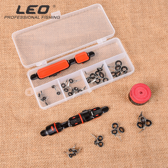 Lure Accessories Set DIY Fishing Reel Wheel Seat Rod Clip With Sweat Belt And Guide Ring 4