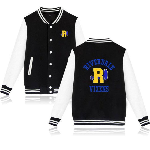 RIVERDALE VIXENS THEMED BASEBALL JACKET