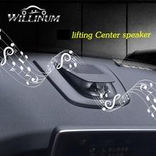 Araba merkezi hoparlör BMW X5 X6 F15 F16 otomatik dashboard konsolu ses kaldırma hoparlör tweeter müzik çalar boynuz çizgi hoparlör
