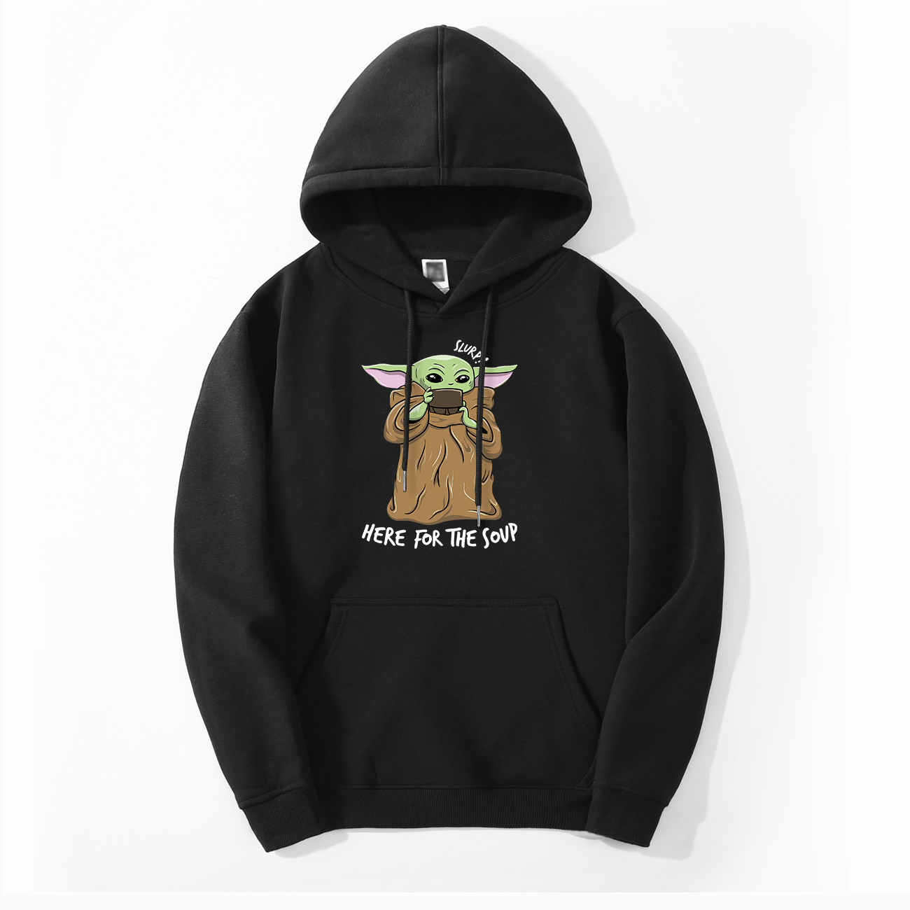 Cute Baby Yoda Hoodie Sweatshirts Fleece The Mandalorian Men Hoodies Autumn Winter Hooded Star War Streetwear Fashion Sportswear