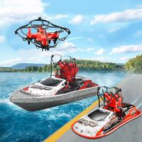Fixed High Drone Sea Land Air Three in one Remote Control Car Speedboat Boat Mini Aircraft Electric Drift Racing Toys
