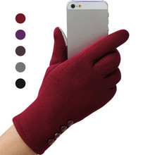 Fashion Touchscreen Womens Winter Gloves Outdoor Sport Warm female gloves Mobile Phone Women guantes