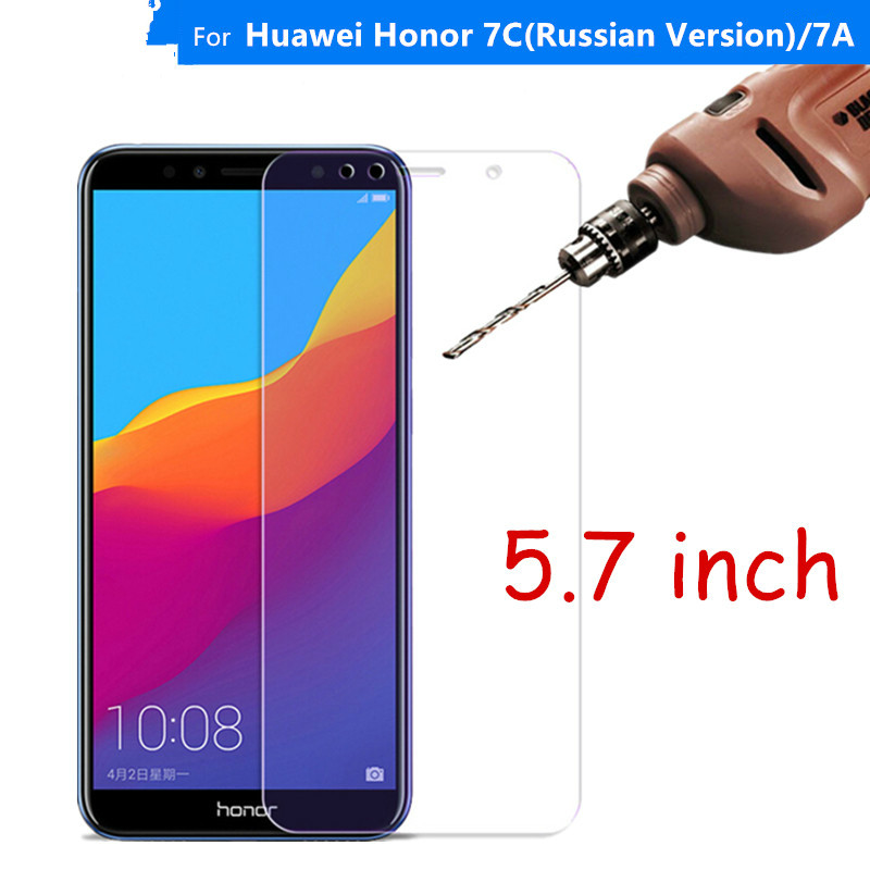 Protective Glass For Huawei Honor 7C Tempered Glass Honor 7C Russian Version AUM-L41 Screen Protecto