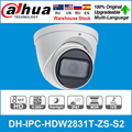 Dahua Original IPC-HDW2831T-ZS 8MP 4K 5X Zoom Vari-focal POE SD Card Slot H.265+ 40M IR IVS IP67 Starlight Eyeball IP Camera