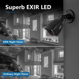 Image 4 - Sannce dvr 1080n cctv câmera, gravador de vídeo, 4/8 peças 2mp, kit de vigilância residencial e visão noturna, à prova d água
