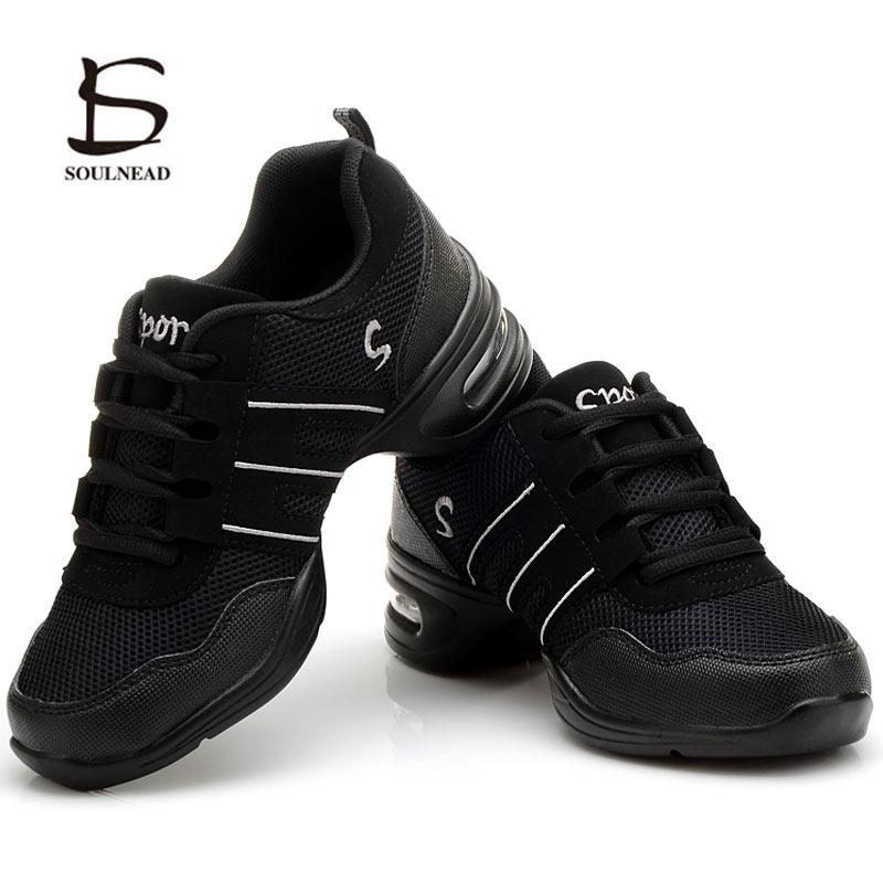 Women Jazz Dance Shoes Sneakers Female Children Kids Breathable Practice Hip Hop Shoe Ladies Modern Dancing Casual Sports Shoes