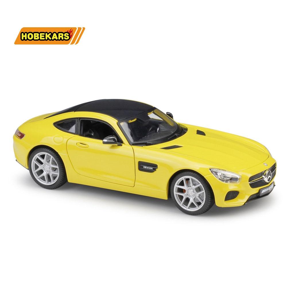 Maisto AMG GT, спортивный автомобиль, литая под давлением, модель автомобиля, 1:18, металлический сплав, высокая симуляция, автомобили с базой, игруш