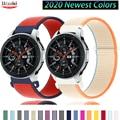 20 мм/22 мм Huawei часы GT-2-2e-pro ремень для Samsung Gear S3 Frontier нейлон браслет Galaxy watch 3 45 мм/46 мм/42 мм/Активный 2 диапазона