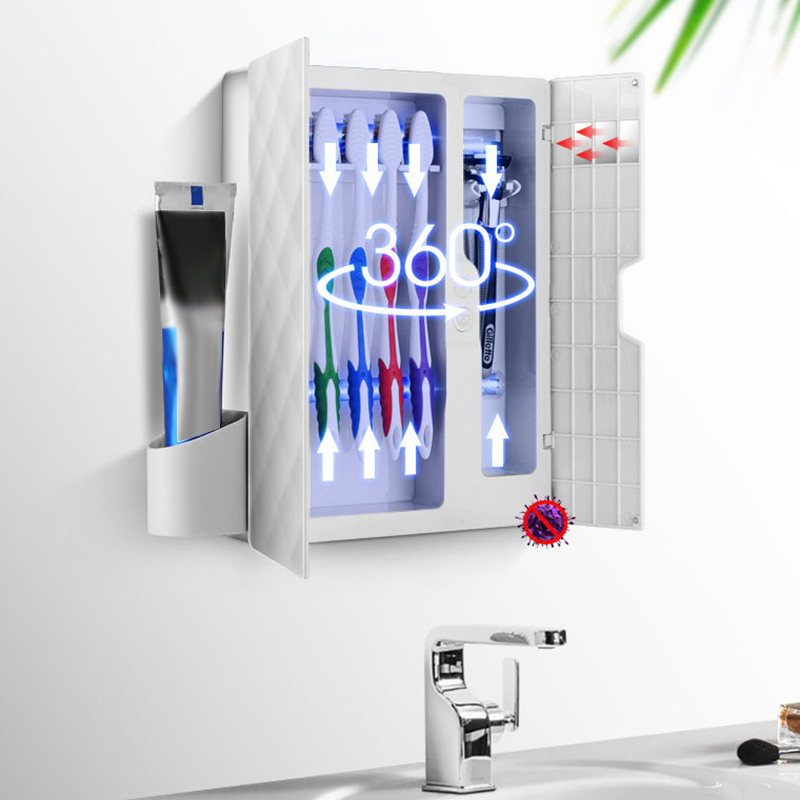 Dust-Proof Luz Uv Escova Sanitizer Esterilizador Automático