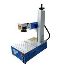 30W Raycus all in one fiber marking machine  laser marking machine marking metal laser engraving machine diy cnc цены