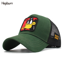 Spring Wholesale Cotton Cap men/women Baseball Snapback Hat Animals Embroidery Caps Mesh Unisex