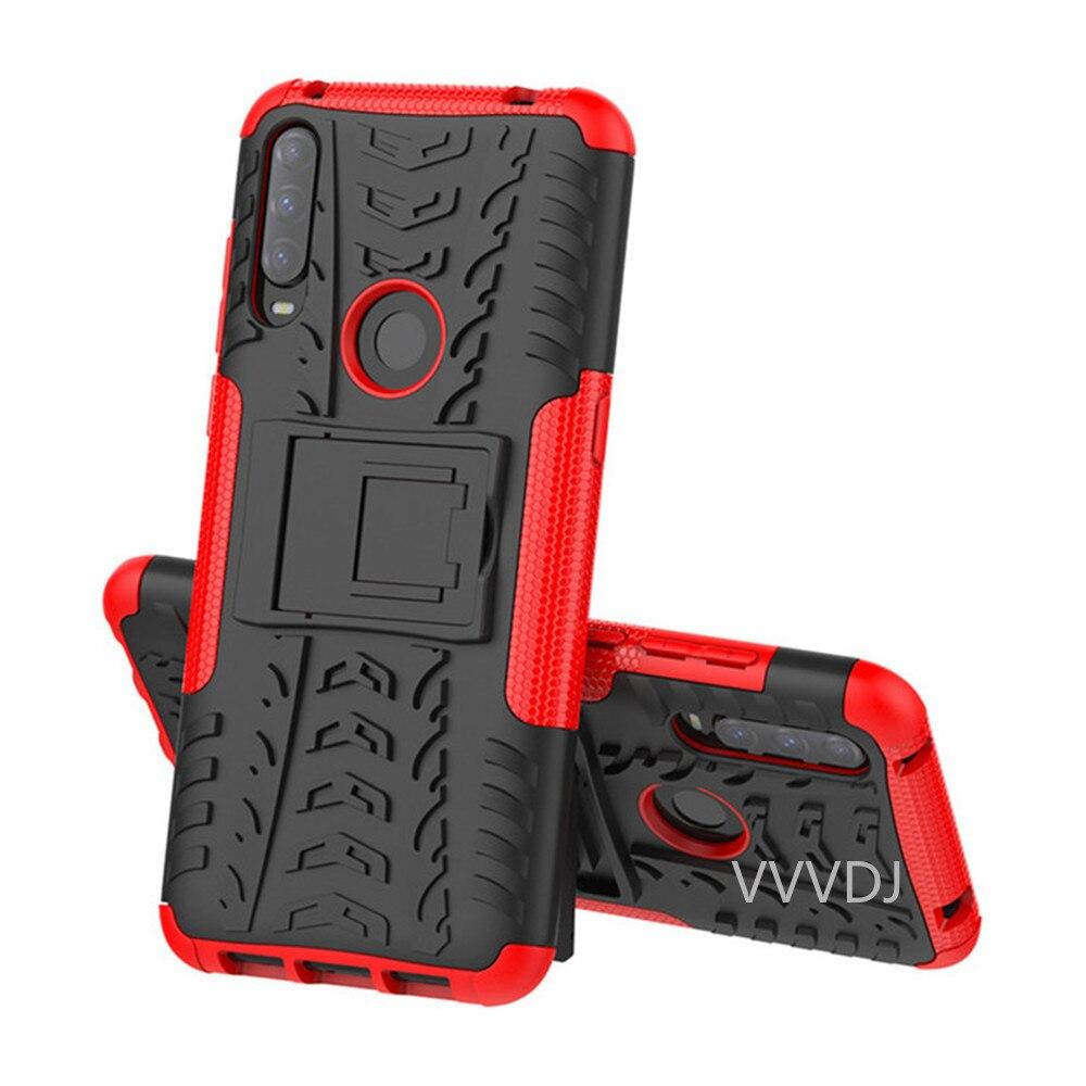 Para alcatel 1 s 1 v 3l 2020 caso luxo pc + tpu voltar capa suporte armadura à prova de choque caso para alcatel 1 s 1 v 3 l 2020 casos de telefone|Caso de telefone & Covers|   -