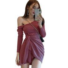 Женское платье liva однотонные платья для девочек наклонные