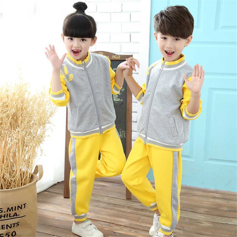 Kindergarten Primary School Uniform Kid Clothes Summer Ropa Kids Tracksuit Boys Clothes Girls Sets Clothing Group Outfits