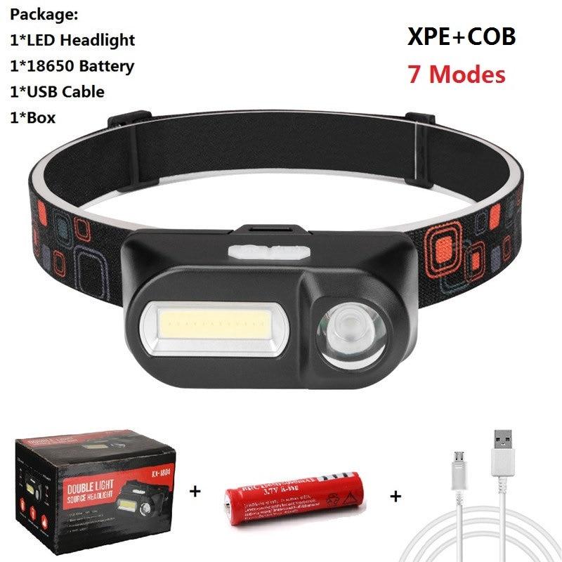 Useful 3-Mode 6 LED Headlight Lamp Headlamp For Camping Bike Hiking Hot Sale