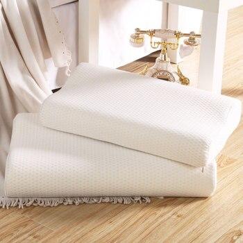 Almohada de espuma de rebote lento para adultos, 60x40cm, ropa de cama...