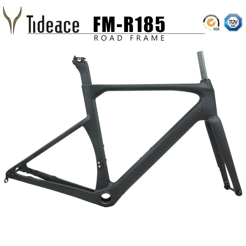 Road-Carbon-Frame Frameset Disc-Brake Bicycle Di2 UD 142--12mm
