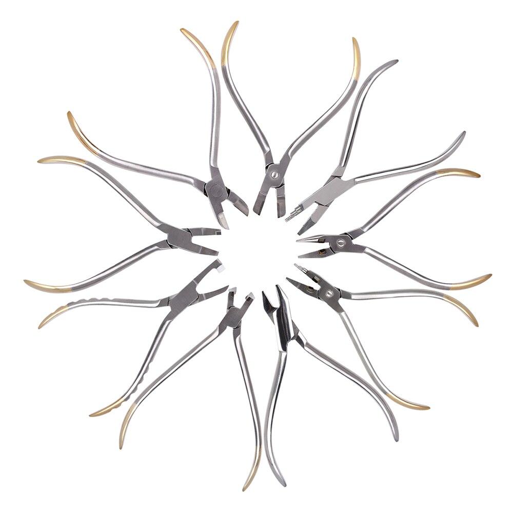 Стоматологические Ортодонтические Плоскогубцы с гибкой проволокой, твидовые прямоугольные плоскогубцы для формирования арки, крутящий мо...