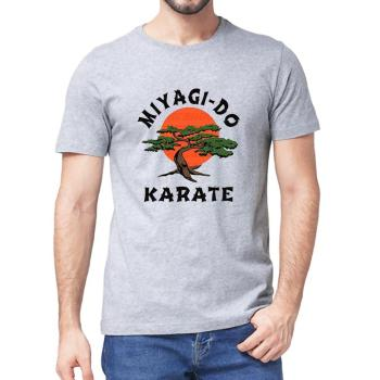 Unisex 100% Cotton Miyagi Do Jo T-Shirt -Inspired by Karate Kid Funny Shirt Martial Art Retro Cool Men's T-shirt  women soft tee - discount item  40% OFF Tops & Tees